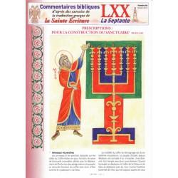 Commentaires bibliques La septante n° parus en 2013 (CEE)