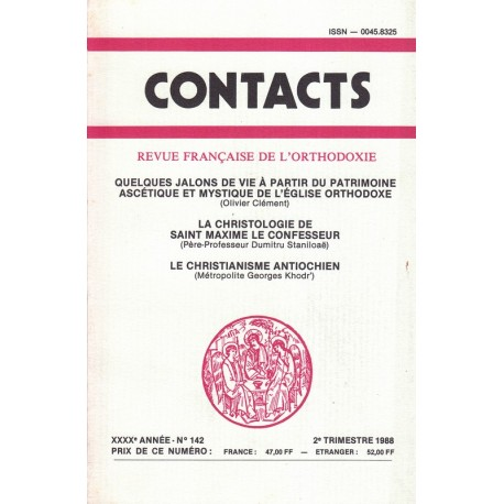 Contacts n° 142