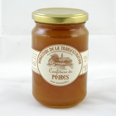 Confiture de poires aux amandes 425 g