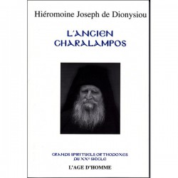 L'Ancien Charalampos. Hiéromoine Joseph de Dionysiou