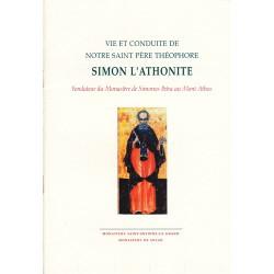 Vie et conduite de notre saint Père théophore Simon l'Athonite