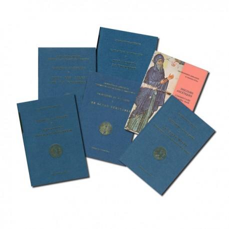 Collection des 6 tomes des catéchèses de l'Archimandrite Aimilianos