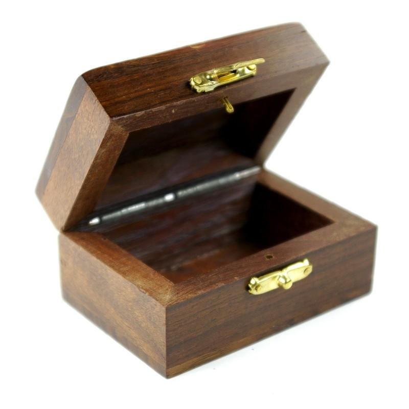 Coffret en bois pour objets religieux ~ Petit Coffret En Bois