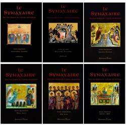 Le synaxaire. Vie des saints de l'Eglise orthodoxe. Les 6 tomes.