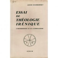 Essai de Théologie Irénique – l'orthodoxie et le Catholicisme