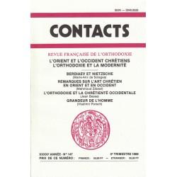 Contacts n° 147. 3° trimestre 1989
