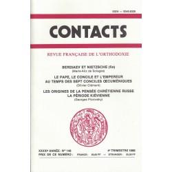 Contacts n° 148. 4° trimestre 1989