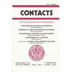 Contacts n° 153. 1° trimestre 1991