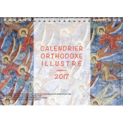 Calendrier orthodoxe illustré 2017