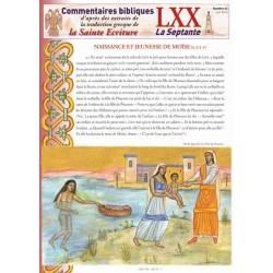 Naissance et jeunesse de Moïse. Ex 2/1-15