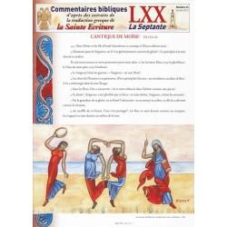 Cantique de Moïse. Ex 15/1-21