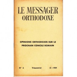 Le messager orthodoxe n° 6 Année 1959