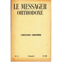 Le messager orthodoxe n° 14 Année 1961