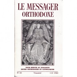 Le messager orthodoxe n° 85 Année 1980