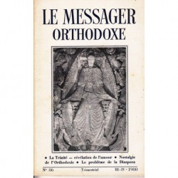 Le messager orthodoxe n° 86 Année 1980