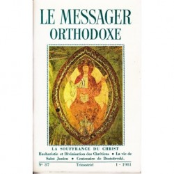 Le messager orthodoxe n° 87 Année 1981