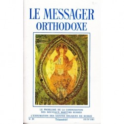 Le messager orthodoxe n° 89 Année 1981