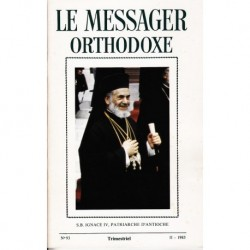 Le messager orthodoxe n° 93 Année 1983