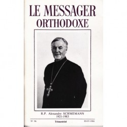 Le messager orthodoxe n° 96 Année 1984