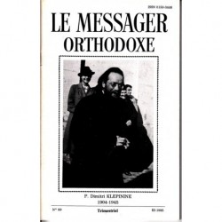 Le messager orthodoxe n° 99 Année 1985