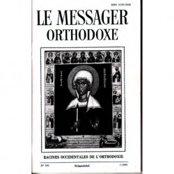 Le messager orthodoxe n° 101 Année 1986