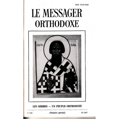 Le messager orthodoxe n° 106 Année 1987