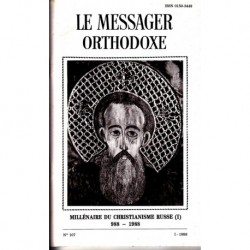Le messager orthodoxe n° 107 Année 1988