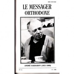 Le messager orthodoxe n° 111 Année 1989