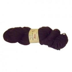 Echeveau 100% pure laine couleur brun foncé