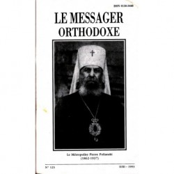 Le messager orthodoxe n° 123 Année 1993