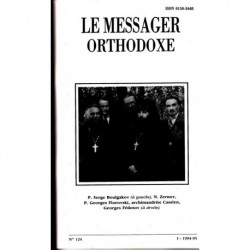 Le messager orthodoxe n° 124 Année 1994