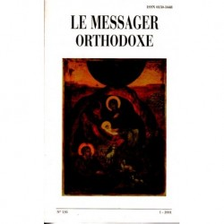 Le messager orthodoxe n° 136 Année 2001