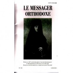 Le messager orthodoxe n° 150 Année 2010