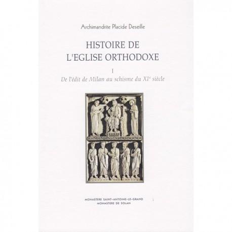 Histoire de l'Eglise Orthodoxe. Placide DESEILLE