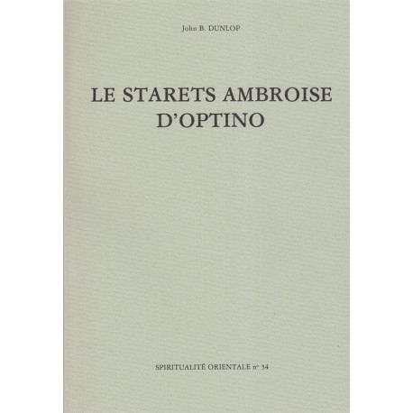 Le starets Ambroise d'Optino