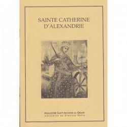 Vie de Sainte Catherine d'Alexandrie