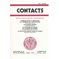 Contacts n° 140. 4° trimestre 1987