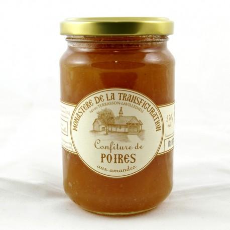 Confiture de poires aux amandes 370 g