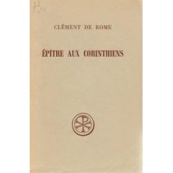 Épître aux corinthiens - Clément de Rome