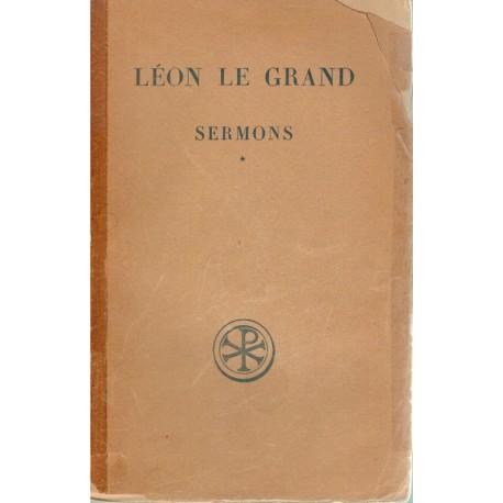 Sermons Tome 1 - Léon le Grand