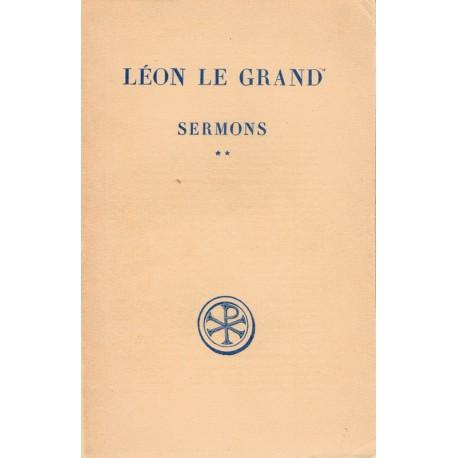 Sermons Tome 2 - Léon le Grand