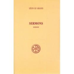 Sermons Tome 4 - Léon le Grand