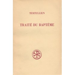 Traité du baptême - Tertullien
