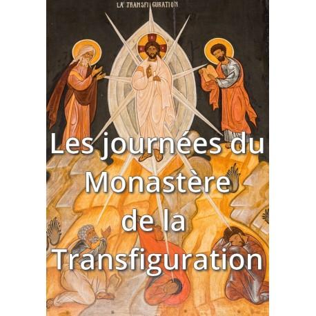 RESERVATION ADULTE pour les journées du Monastère de la Transfiguration 2018