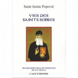 Vies des saints serbes. Saint Justin Popovic (Livre occasion)