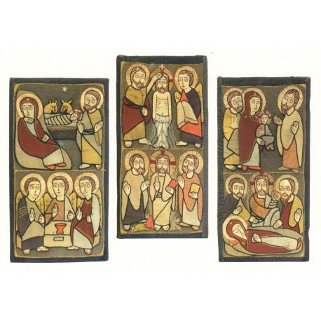Six des douze grandes fêtes