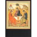 Reproduction icône de Léonide Ouspensky. La Sainte Trinité