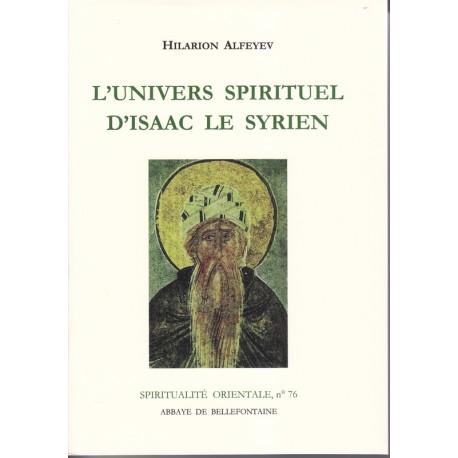 L'univers spirituel d'Isaac le syrien