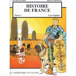 Histoire de France Tome 1 Les origines. De la préhistoire aux Gaulois