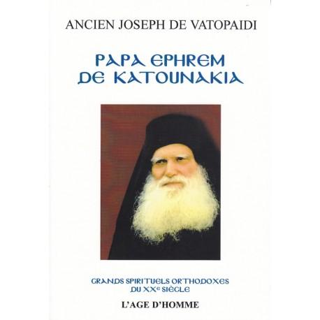 Papa Ephrem de Katounakia